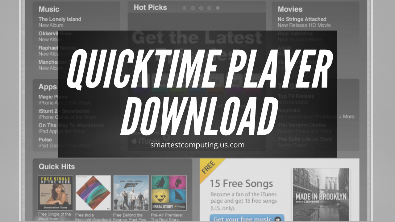 quicktime player download for windows
