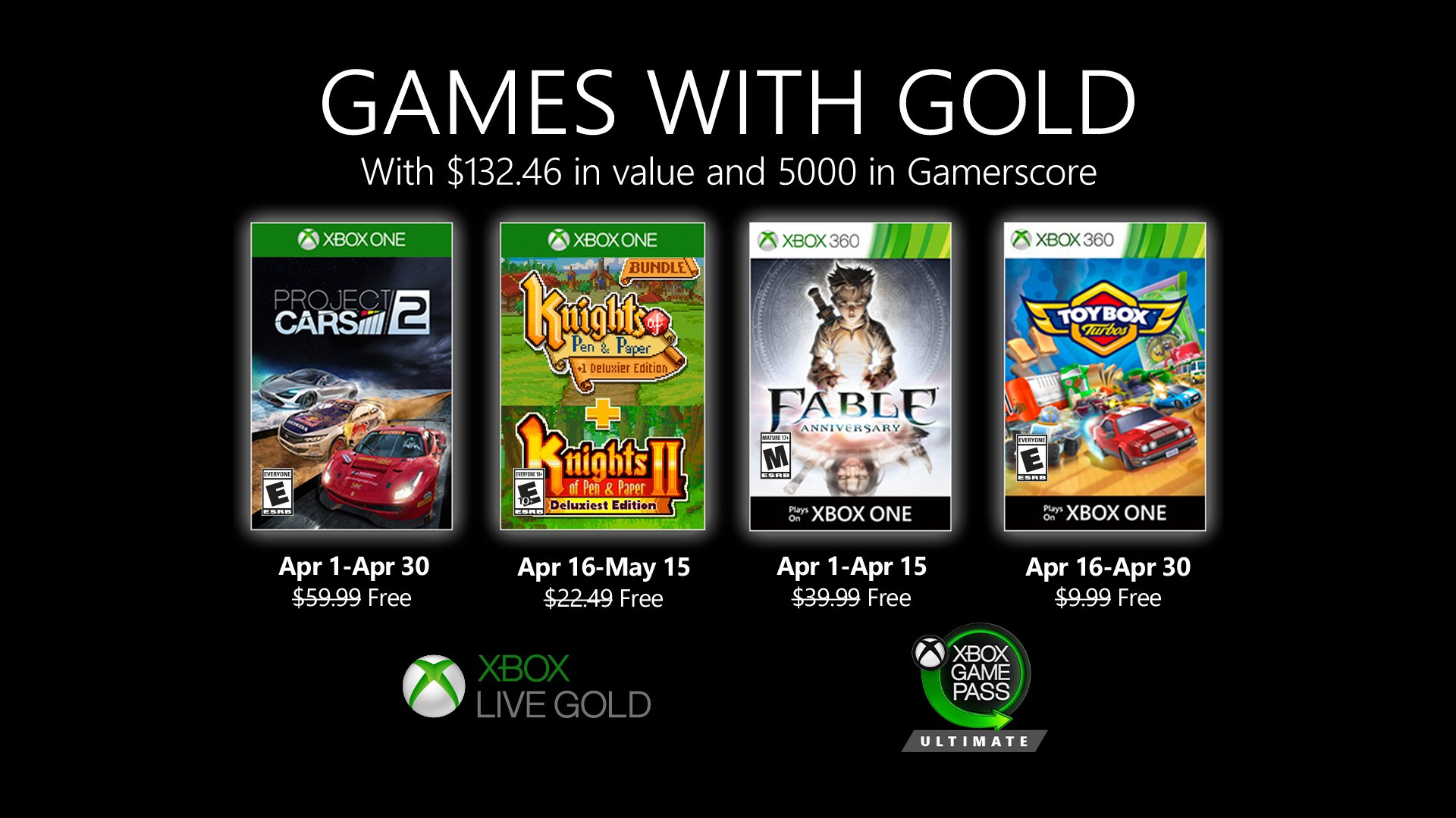 XBOX-Gold-Game