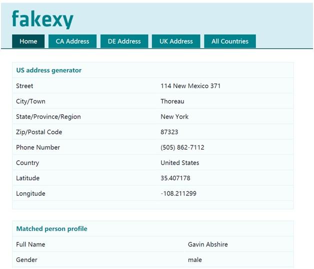 Fakexy