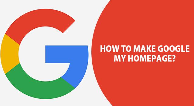 Make Google My Homepage