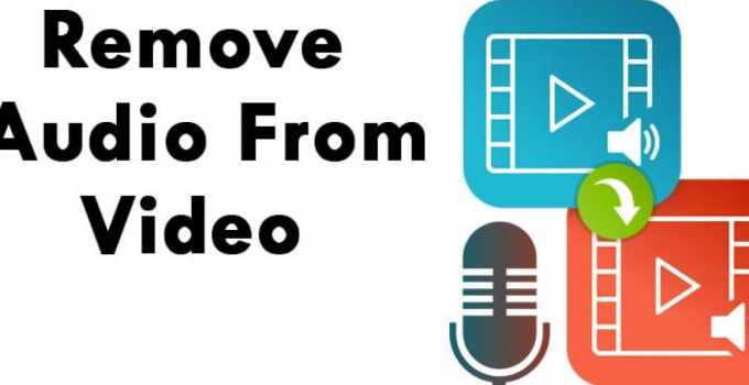 Remove Audio From Video