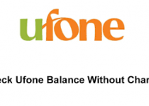 How to check Ufone number