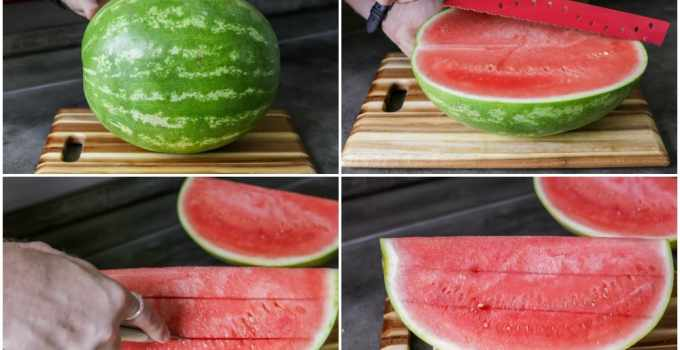 How to cut Watermelon?