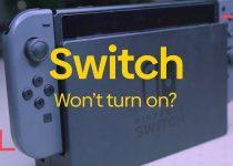 switch wont turn on