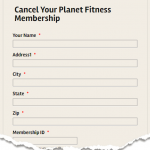 How to cancel planet fitness membership?